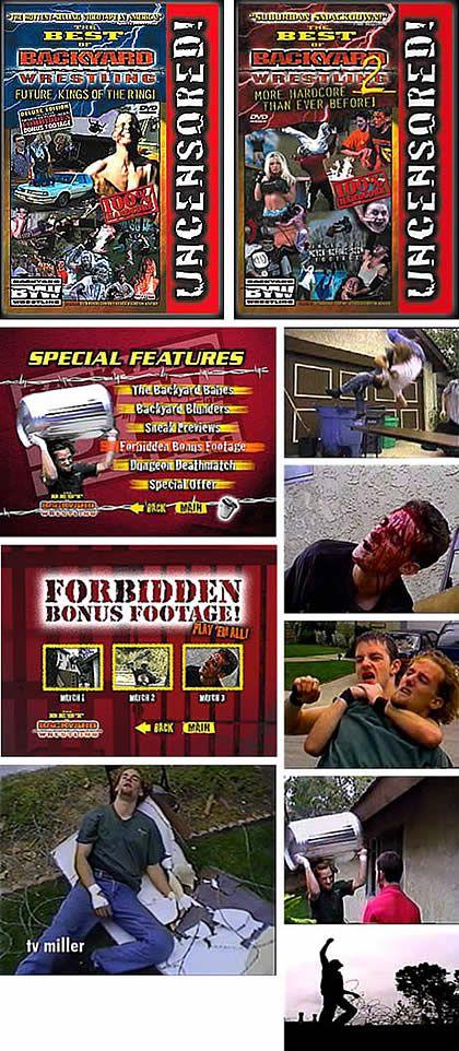 Best Of Backyard Wrestling vije miller - the best of backyard wrestling video series (appearance)